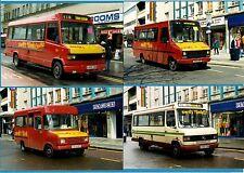4 Bus Photos - Swift Link Coaches - Mercedes: Iveco: Transit - Bristol: 1998