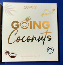 ColourPop GOING COCONUTS Eyeshadow Palette Toasted Nudes New in Box