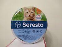 Seresto collar gatos pulgas e garrapatas flea tick treatment duración 8 meses