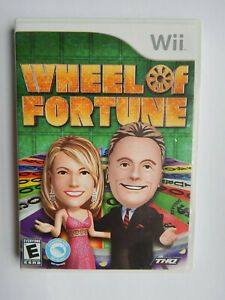 Wheel of Fortune Game Complete! Nintendo Wii