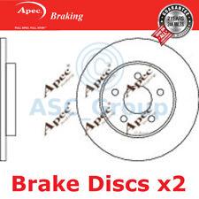 2 X Apec BRAKING 280mm Solide Original Qualität Ersatz