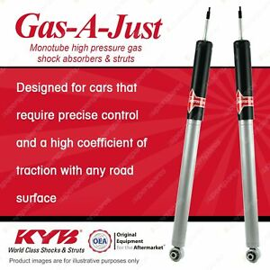 2 x Rear KYB GAS-A-JUST Shock Absorbers for MERCEDES BENZ A209 CLK320 350 55 RWD