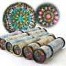 27cm 3 Section Rotatable Kaleidoscope Toys Kids Educational Science Toy Gift DEN