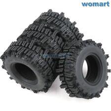 "4pc RC 1.9"" Mud Slingers Crawler Tire tyre Height 93mm Fit RC 1.9 Beadlock Rim"