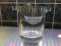 "Vintage Glass Moet & Chandon Small - 5.25""  Bucket / Ice / Wine Bucket"