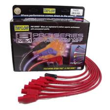 Taylor Spark Plug Wire Set 74200; Spiro Pro 8mm Red for Chevy 6 Cylinder