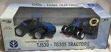 ERTL New Holland TJ530 4WD & TG305 2006 Phoenix Expo Launch Set  1/64 NIB