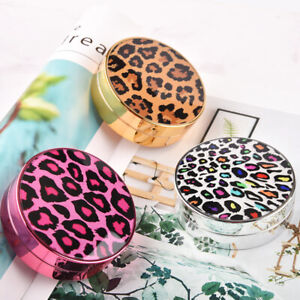 Leopard Printed Fashion Contact Lenses Storage Box Contact lens Case Eyes Care