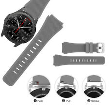 22mm Silicone Bracelet Strap Watch Band For Samsung S3 * Gear Frontier/Clas W3O3