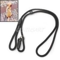 Pet Dog Strong Nylon Rope Slip Training Leash Walking Lead Collar Adjustable New