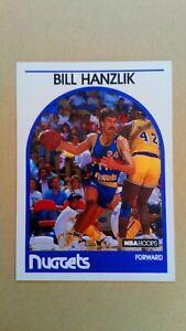 1989-90 NBA Hoops #129 Bill Hanzlik Denver Nuggets