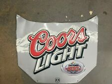 Coors Light Carhood Sign