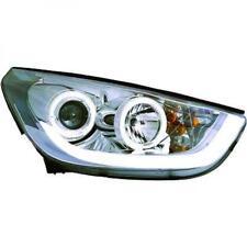 COPPIA FARI Proiettore Lhd LED DRAGO Chiaro Cromo per Hyundai IX 35 10-13