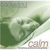 Tony White : Body and Soul - Calm CD Album