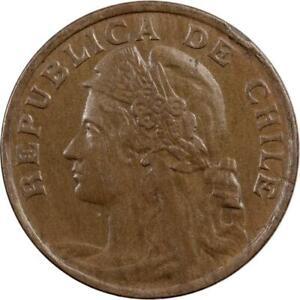 CHILE - 2 CENTAVOS - 1919