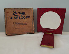 PHOTOGRAPHY ( Ensign ) Snapscope