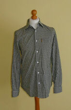 Cotton Blend Checked ARMANI Casual Shirts & Tops for Men