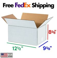 12x9x8 Corrugated Cardboard Moving Boxes Packing 10pk Free Shipping
