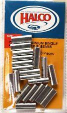Halco Aluminium Single Crimp Sleeve - 1.4mm Pack of 20 Pieces