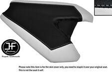 WHITE & BLACK CUSTOM FITS KAWASAKI Z1000 14-16 REAR LEATHER SEAT COVER