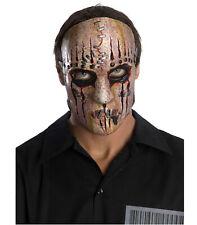 Slipknot Joey Heavy Metal Band Licensed Latex Halloween Men Costume 3/4 Mask