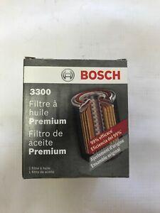 4 Oil Filter Bosch 3300 fits Kia Rio Infiniti G35 Q50 QX60 Mazda 3 6 CX5