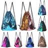 Drawstring Sequin School Gym Swimming PE Bag Girls Boys Beach Sport Ballet Bags