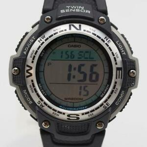 Casio Twin Sensor Compass Men's Watch SGW-100
