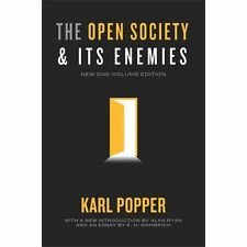 The Open Society and Its Enemies - New One-Volume Edition by Karl Popper...