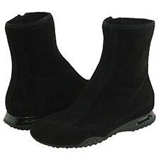 Cole Haan Air Beau Black Suede Zip Short Winter Boot NEW 8.5 M NIB
