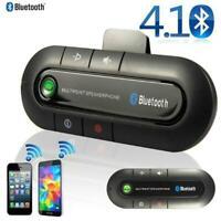 Bluetooth Wireless Handsfree Car Auto Kit Speakerphone Speaker Phone Visor Clip