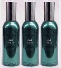 3 Bath Body Works FRESH BALSAM Mini Room Spray Perfume Air Freshener 1.5 oz