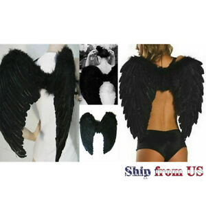 Angel Feather Large Wings Costume Cosplay Adult Fairy Dress Fashion Valentine's