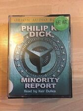 Minority Report Audio Cassette Read by Keir Dullea Abridged Audiobook Dick