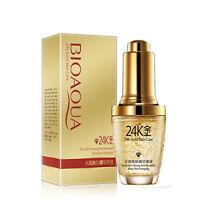 BIOAQUA 24K Skin Care Essence Collagen Anti Aging Nutritious Moisturizing~Gold