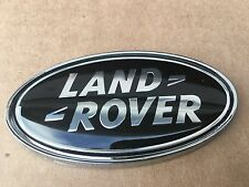 NEW LAND ROVER BLACK OVAL REAR TAILGATE TRUNK SIDE FENDERS EMBLEM LOGO BADGE