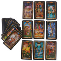 78pcs Tarot Deck Cards Guidance of Fate Playing Board Game Cards KTPCRIT