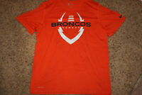 Nike Dri-Fit Denver Broncos Short Sleeve T-shirt Large