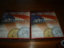 Complete 50 states quarters set P,D, gold all clad with COA