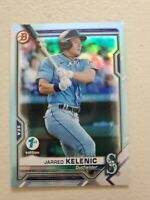 Jarred Kelenic 2021 Bowman 1st Edition FOIL Rookie RC #BFE-102 Seattle Mariners