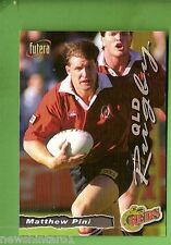 1996 RUGBY UNION  CARD #42 MATTHEW PHIL, REDS