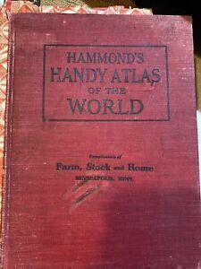 Hammond's Handy Atlas Of The World 1908