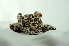 Ty Beanie Baby FRECKLES 1993 Leopard W/O Tag Plush Toy ERRORS - RARE NEW RETIRED