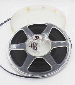 Vintage GenePlas 8mm Film Reel - film reel & Film in canister.