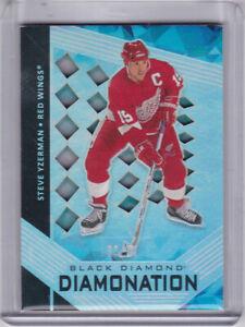 2020/21 UPPER DECK BLACK DIAMOND STEVE YZERMAN DIAMONATION # 21/99