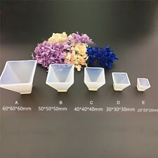 Pyramid Silicone Mould DIY Resin Decorative Mold Craft.Jewelry Making Mold_L