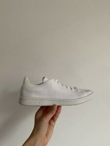 ADIDAS ORIGINALS KNITTED STAN SMITH WHITE BEIGE  TRAINERS SIZE UK 6 EURO 39.1/3