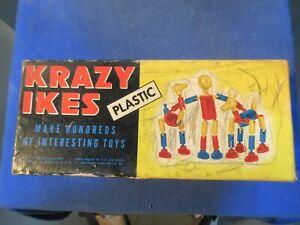Vintage Krazy Ikes / Box and Illustrations / Used / Whitman Publishing Co / 1950