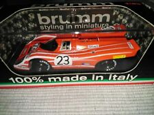 Porsche 917K 24h Le Mans 1970 1:43 Brumm Modellauto