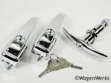 VW Bug Door Handle Set - Bug 1952 to 1955